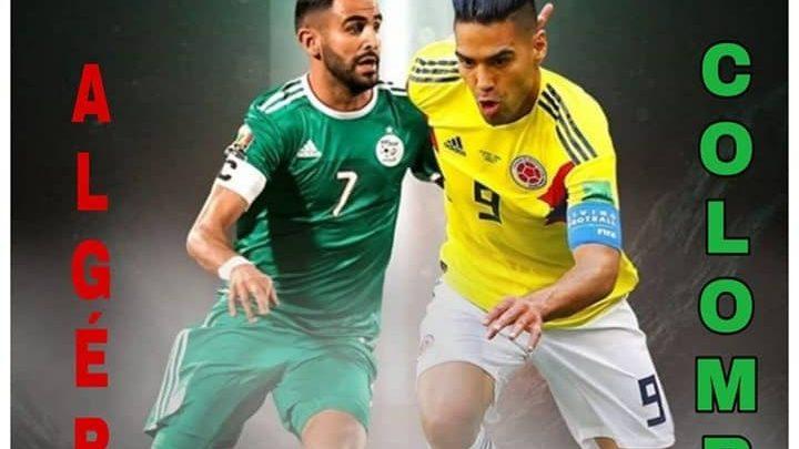 الجزائر وكولومبيا بث مباشر